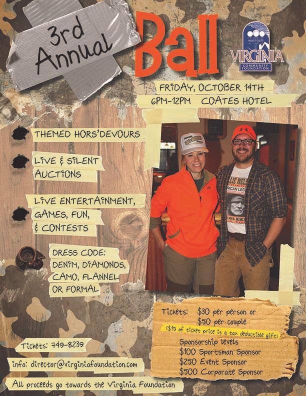 3rd Annual Fall Ball