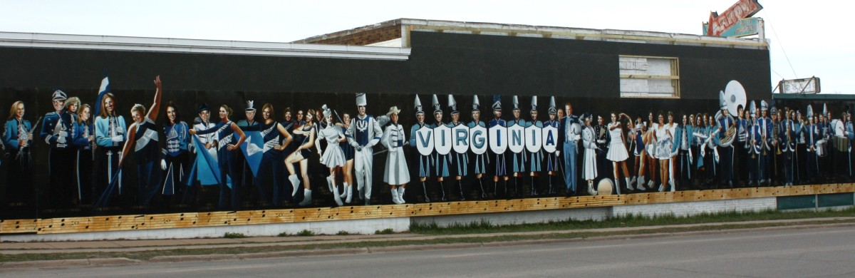 Marching Blues: the Virginia Marching Band Through Time