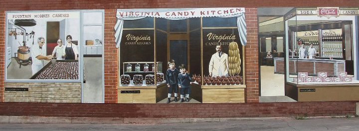 Canelakes Candy Mural