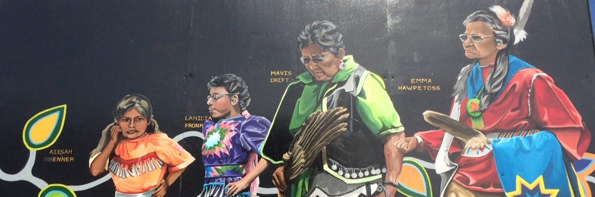 Ojibwe Mural